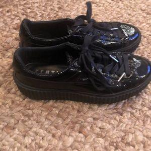 Puma Shoes - Puma FENTY by Rihanna patent leather shoes